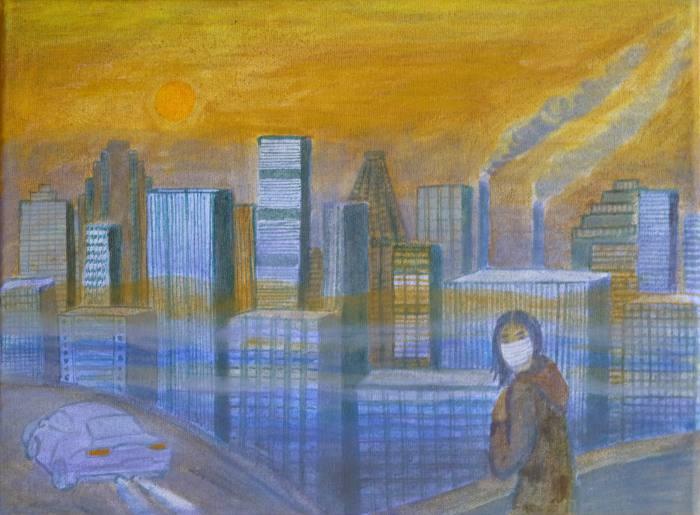 Sonne-Smog