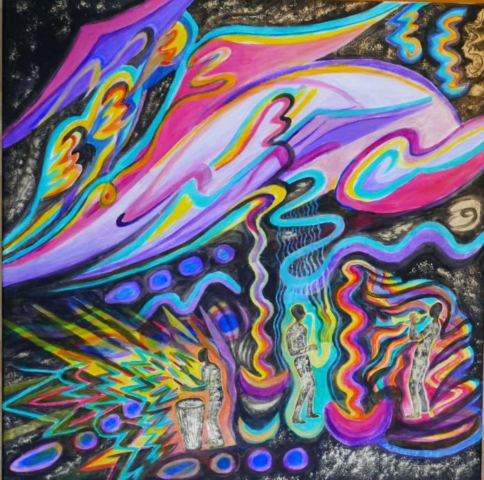 Harlem Nocturne, 80x80