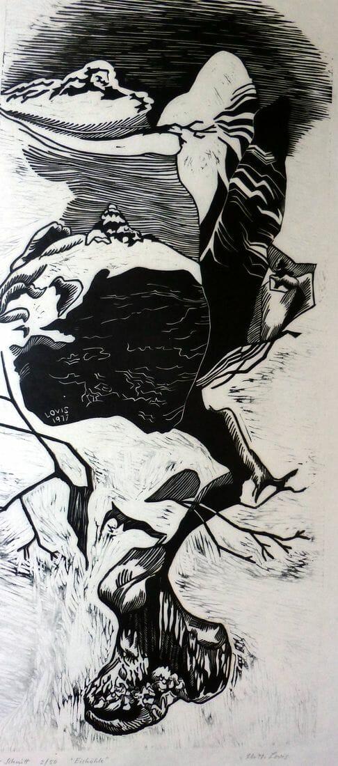 Eishöhle, 50x22