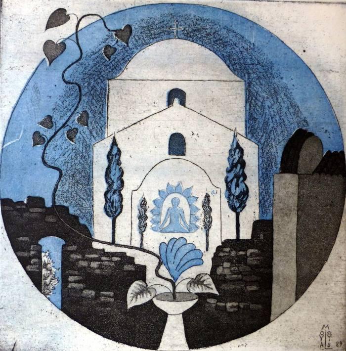 Griechische Kirche, 20x20